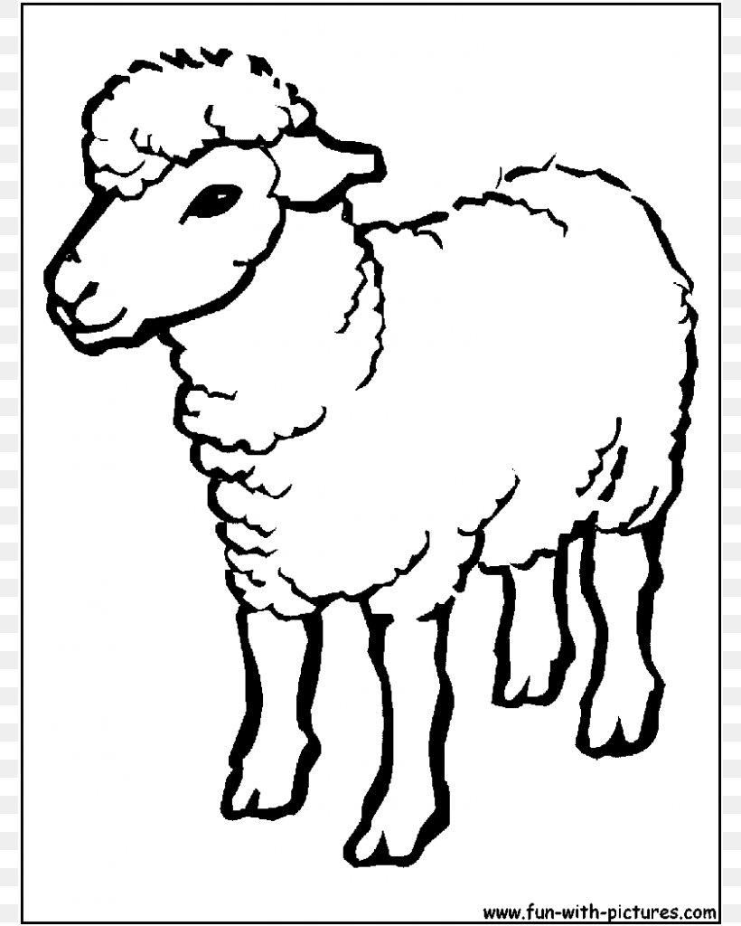 Sheep Coloring Book Princess Coloring Kids Coloring Drawing