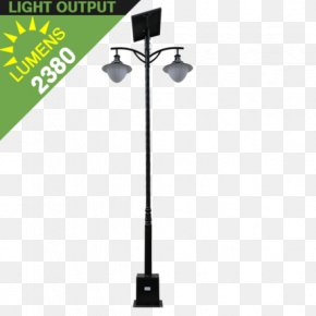 Pole - Street Light Solar Lamp Light Fixture LED Lamp PNG