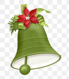 Exquisite Cartoon Bell - Christmas Tree New Year Christmas Card Clip Art PNG