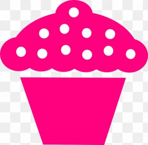 Polka Dot - Cupcake Frosting & Icing Muffin Birthday Cake Clip Art PNG