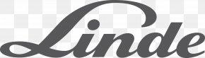 GAS - The Linde Group Linde Material Handling Logo Forklift PNG
