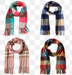 Children Fall And Winter Scarves - Scarf Winter Fashion Wool Designer PNG