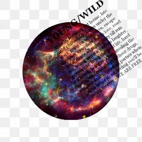 Galaxy Print - Supernova Remnant Cassiopeia A Type II Supernova PNG