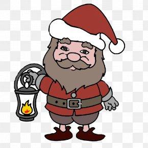 Santa Claus - Santa Claus Christmas Human Behavior Clip Art PNG
