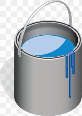 A Bucket Of Water - Water Bucket Computer File PNG