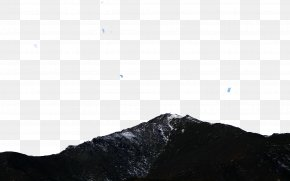 Lanzhou Baita Mountain Eight - Black White Sky Pattern PNG