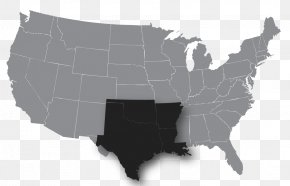 Map - United States Of America Vector Graphics Illustration Royalty-free Map PNG