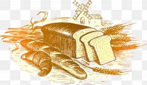 Bread - Bakery Brown Bread PNG