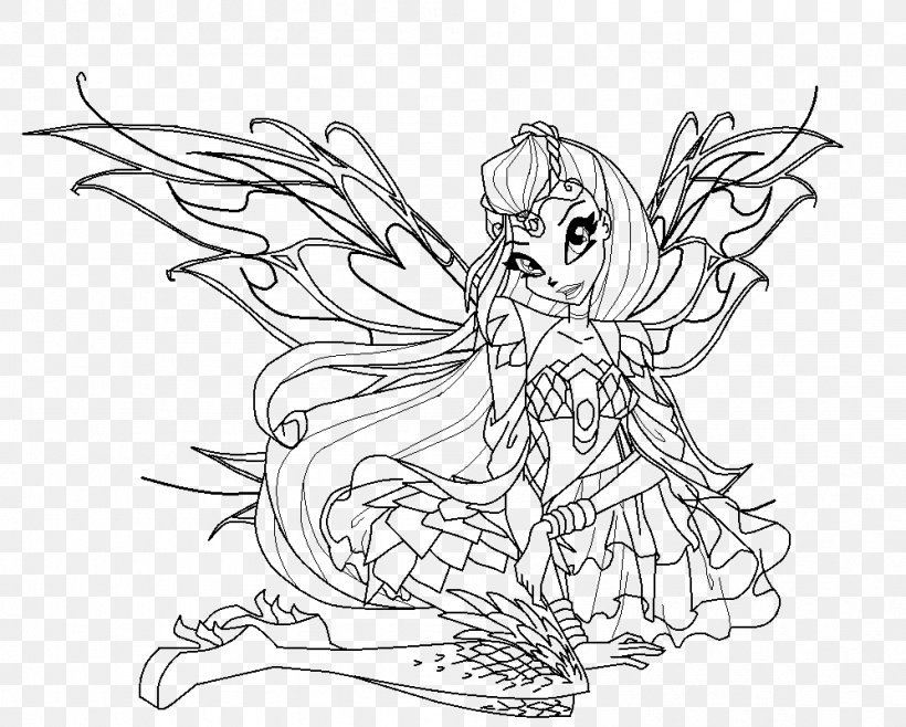 Winx Club Bloom Sophix Coloring Pages for Kids | Digital Coloring ... | 658x820