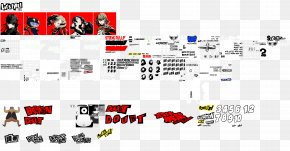Playstation - Persona 5 PlayStation 3 Video Game Sprite PNG