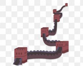 Ancient Great Wall Of China Vector - Great Wall Of China Euclidean Vector Icon PNG