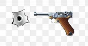 Vector King Eight Box Pistol Bullet Hole Material - Trigger Revolver Handgun PNG