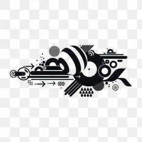 Techno Dialog Box - Decorative Arts Phonograph Record Graphic Design PNG