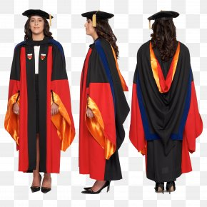 Graduation Gown - Stanford University School Of Engineering Doctorate Academic Dress Doctor Of Philosophy Graduation Ceremony PNG