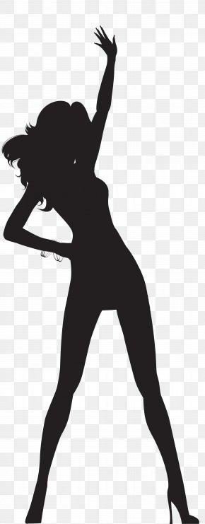 Dancing Woman Silhouette Transparent Clip Art Image - Silhouette Dance Clip Art PNG