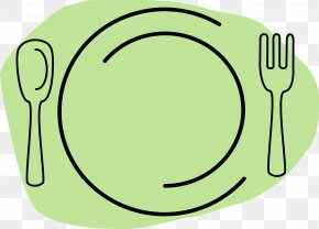 Plate - Plate Spoon Fork Clip Art PNG