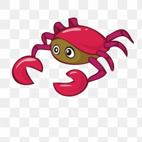 Crab - Vector Graphics Crab Image Stock Illustration Download PNG