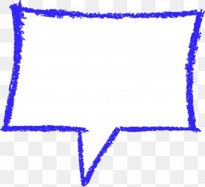CRAYON - Text Speech Balloon Crayon Bubble Rectangle PNG