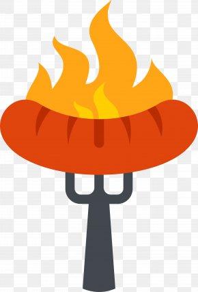 BBQ Ham Sausage - Churrasco Sausage Barbecue Ham Street Food PNG