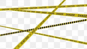 Police Tape - Adhesive Tape Barricade Tape Wallpaper PNG