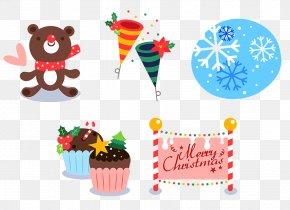 Christmas Elemental Design - Christmas Gift Illustration PNG