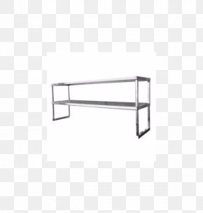 Store Shelf - Table Shelf Furniture Stainless Steel Wire Shelving PNG