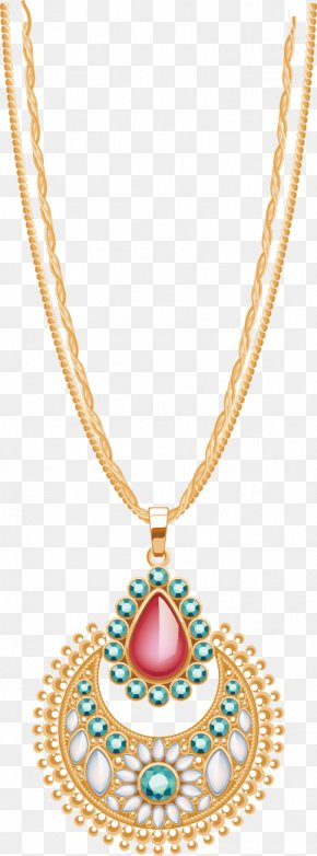 Necklace - Diamond Jewellery Earring Necklace PNG