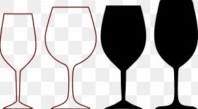 Wine Goblet Cliparts - Wine Glass Champagne Clip Art PNG