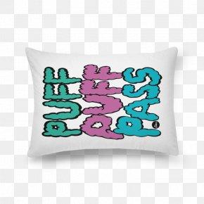 Marijuana Pillow - Throw Pillows Cushion Textile Font PNG