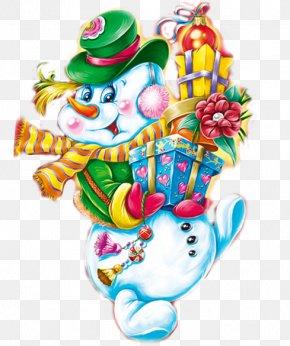 Snowman - Christmas Day Snowman New Year Clip Art Christmas Card PNG