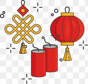 Chinese New Year - Firecracker Chinese New Year 中国年 Lunar New Year PNG