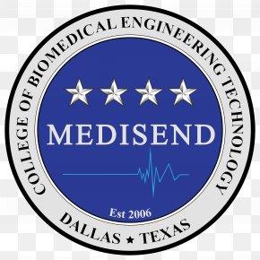 Biomedical Engineering - MEDISEND Emblem Circle M Label Logo PNG