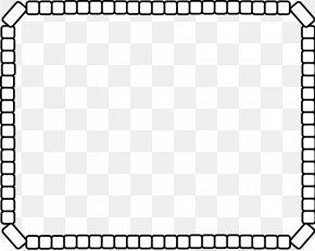 3d Shapes Clipart - Rectangle Picture Frames Clip Art PNG