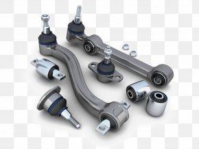 Automotive Engine Parts - Car Ball Joint Suspension Control Arm Automobile Repair Shop PNG