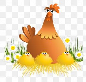 Easter - Easter Bunny Chicken Clip Art PNG