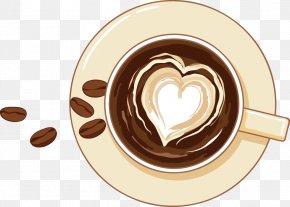 Coffee - Irish Coffee Cafe Coffee Bean PNG