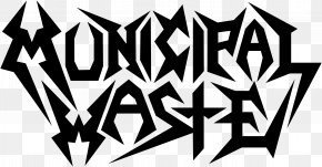 T-shirt - T-shirt Municipal Waste The Art Of Partying Thrash Metal Logo PNG