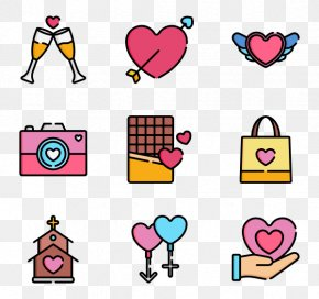 Valentine's Day Gift - Valentine's Day Computer Icons Clip Art PNG