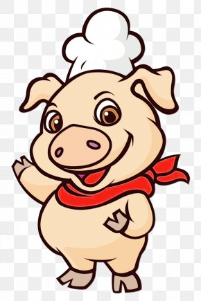 Livestock Domestic Pig - Cartoon Clip Art Suidae Smile Happy PNG