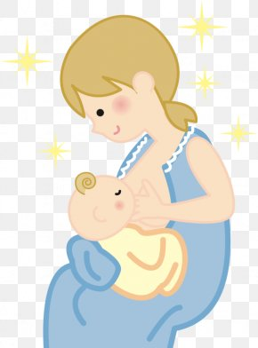 Mother Baby - Clip Art Mother Infant Breast Milk PNG