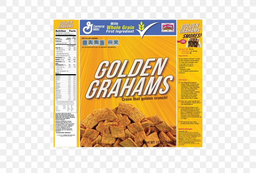 Corn Flakes Breakfast Cereal General Mills Golden Grahams Nutrition Facts Label, PNG, 3840x2608px, Corn Flakes, Box, Brand, Breakfast Cereal, Flavor Download Free