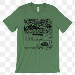 T-shirt - T-shirt Sleeve Unisex Crew Neck PNG