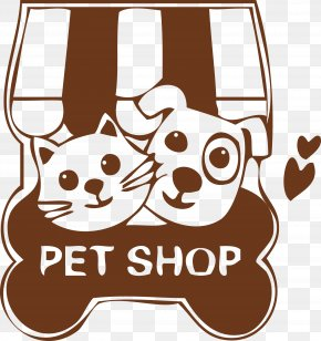 Cats And Dogs Pet Shop Decoration PET,SHOP - Dog Cat Pet Shop PNG