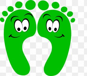 Cartoon Feet - Footprint Cartoon Clip Art PNG