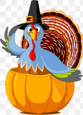 Thanksgiving Cartoon Turkey Decoration - Public Holiday Thanksgiving Day Turkey PNG