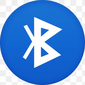 Bluetooth - Blue Area Trademark Symbol PNG