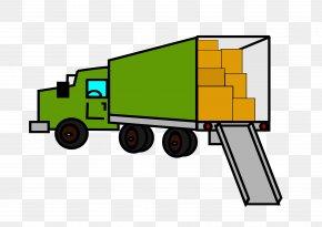 Truck - Mover Pickup Truck Van Car Clip Art PNG