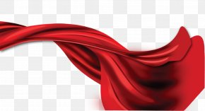Red Ribbon Strip - Red Ribbon PNG