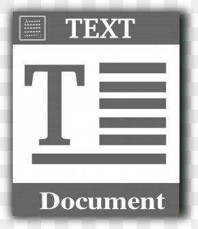 TXT File - Text File Plain Text Clip Art PNG