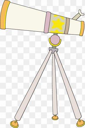 Telescope Optical Instrument - Clip Art Optical Instrument Line Telescope PNG